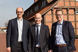 Bernd Meerpohl, Maurice Ortmans en Lars Vornhusen