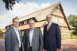 Lars Vornhusen, Siegbert Bullermann en Bernd Meerpohl