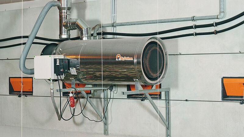 Stalinrichtingen voor een zuinig energieverbruik: RGA100-verwarmingsinstallaties
