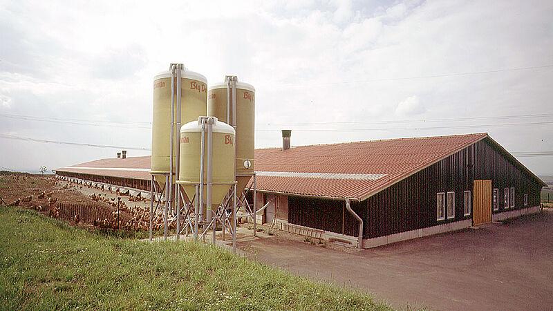 Vrije-uitloophuisvesting in Saksen
