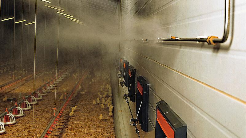 Fogging Cooler – het hogedruk-vernevelingssysteem